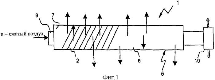 Фильтрующее устройство в виде полой волоконной мембраны и его применение при очистке сточных вод, а также мембранный биореактор