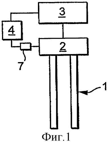 Устройство для приведения в действие колебательного блока виброрезонатора (варианты)