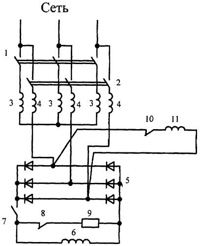 Устройство управления синхронным двигателем
