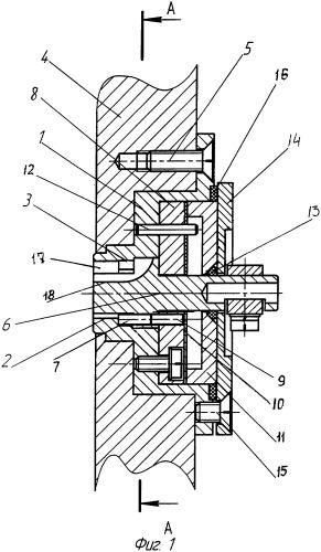 Запирающий механизм цилиндрового замка