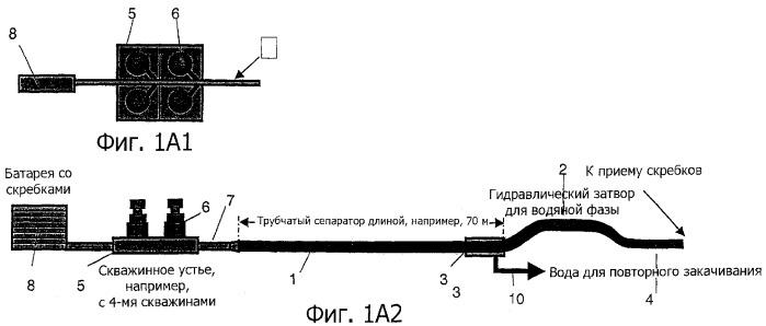 Трубчатый сепаратор для разделения текучих сред