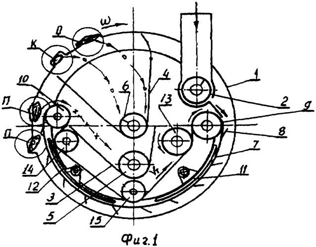 Цилиндрический сепаратор