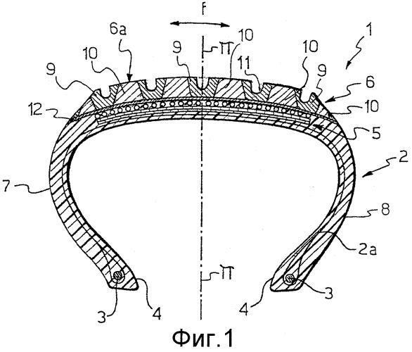 Пневматическая шина и способ ее изготовления