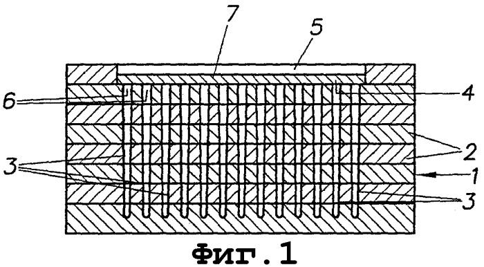 Способ изготовления щетинной структуры на носителе