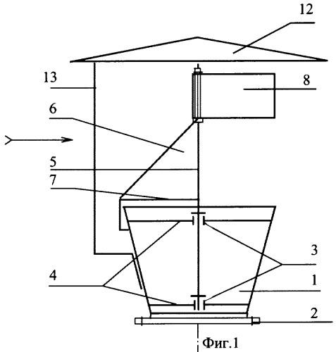 Вытяжное устройство системы естественной вентиляции