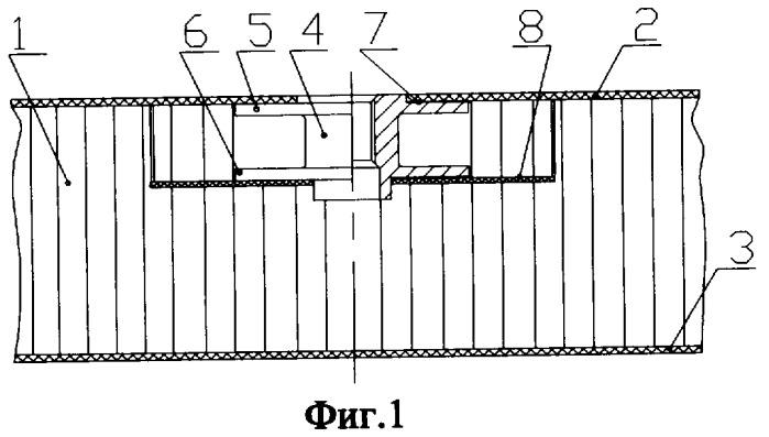 Опорный узел трехслойной панели