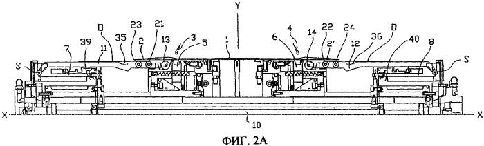 Барабан для изготовления шин с механизмом заворота, предназначенный для сборки невулканизированной шины