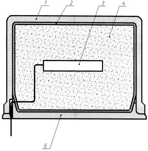 Способ и устройство тепловой защиты электронных модулей