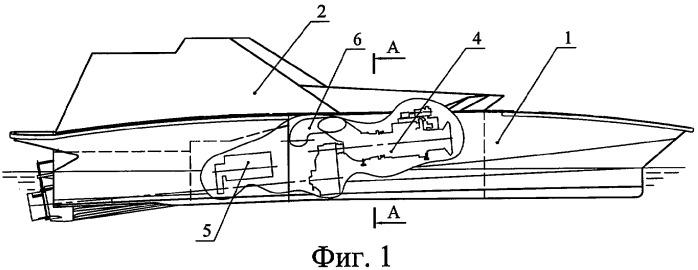 Многорежимный скоростной катер