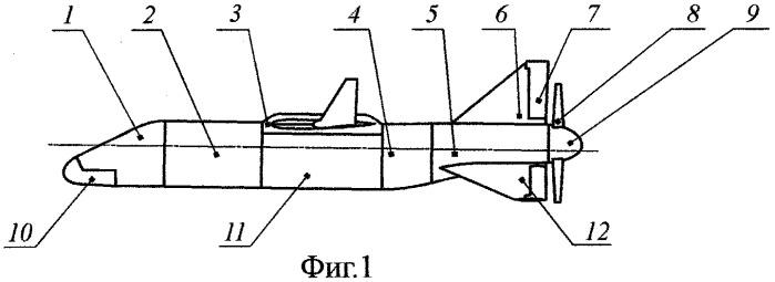 Многовариантный беспилотный летательный аппарат