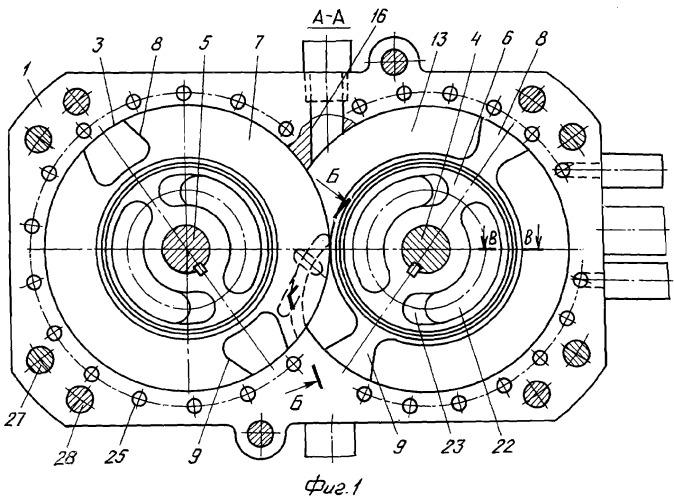 Многороторный двигатель внутреннего сгорания