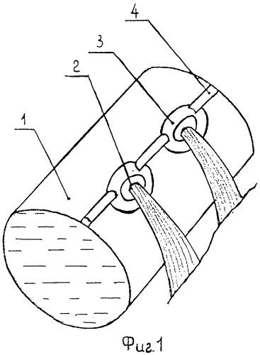 Поливной трубопровод