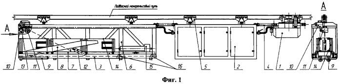 Установка монтажная пневматическая самоходная (умпс)