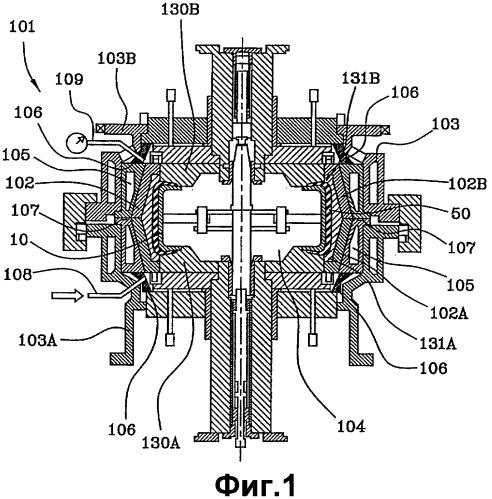 Способ и устройство для формования и вулканизации шины для колес транспортного средства