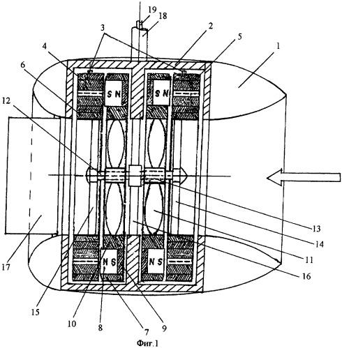 Пропульсивная система с электродвигателями