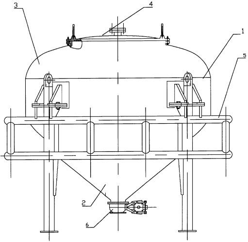 Транспортно-технологический контейнер для взрывчатых веществ