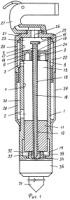 Пневматический молоток с дроссельным воздухораспределением