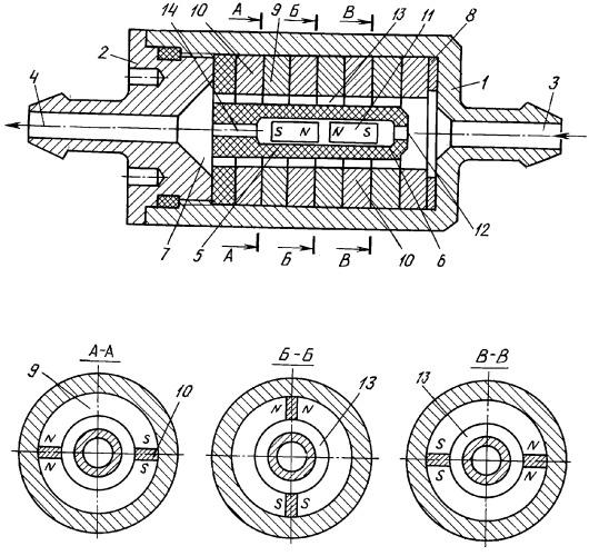 Фильтр магнитной очистки и обработки автомобильного и авиационного топлива экомаг-10г
