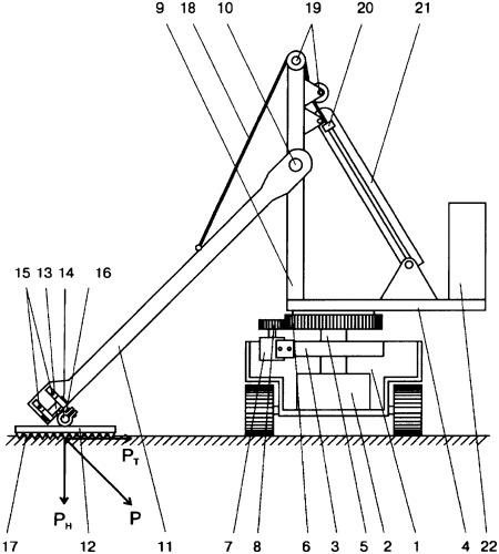 Передвижное устройство для возбуждения в грунте сейсмических волн
