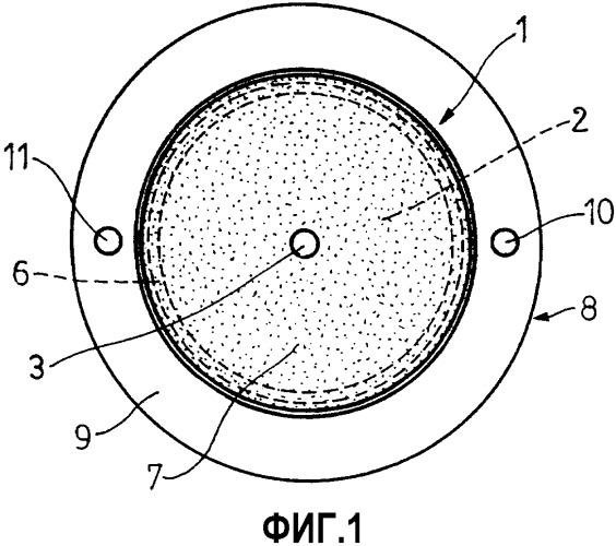 Электродный узел для устройств электротерапии