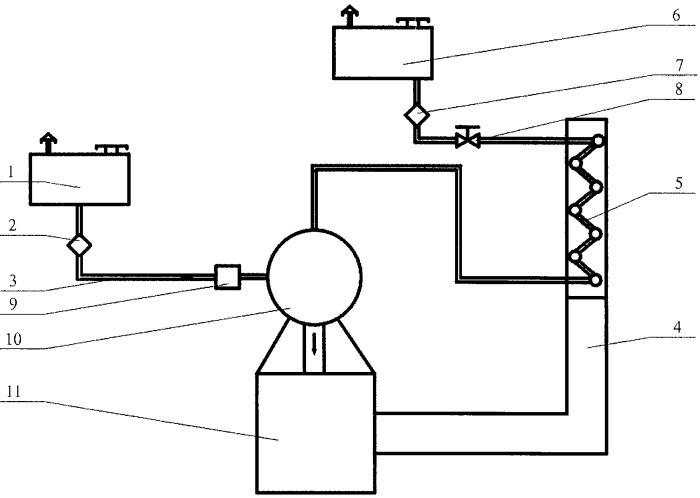 Система питания камеры внутреннего сгорания