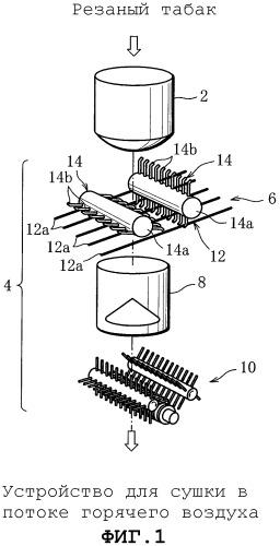 Устройство для измельчения табачного кека для систем вспучивания резаного табака