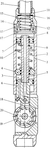 Гидромеханический скважинный перфоратор