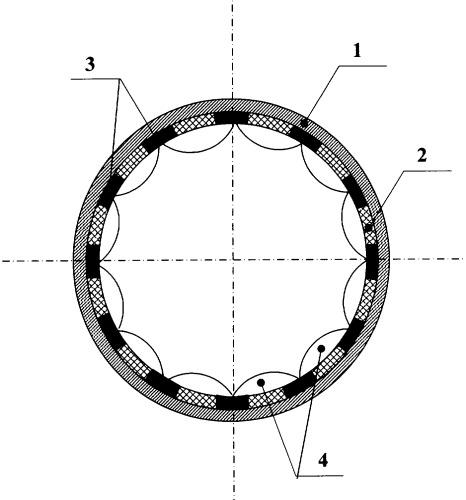Устройство для снижения гидравлического сопротивления в трубопроводе