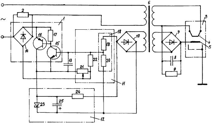 Катодный узел сварочной электронно-оптической системы с катодом косвенного подогрева электронной бомбардировкой