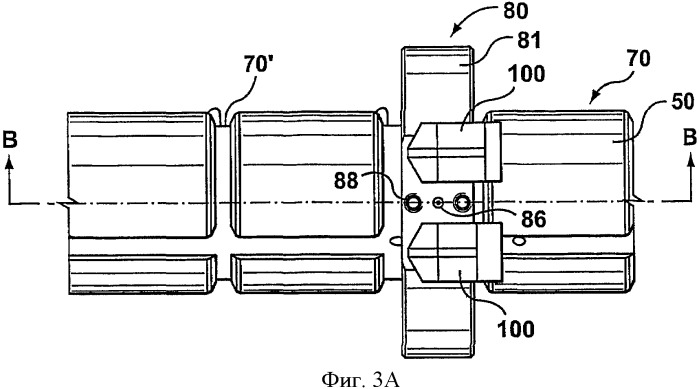 Способ и устройство сопряжения трубопроводов с расплавом в формовочной машине и/или литниковой системе