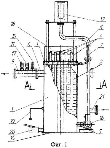 Электроподогреватель жидкостной системы отопления