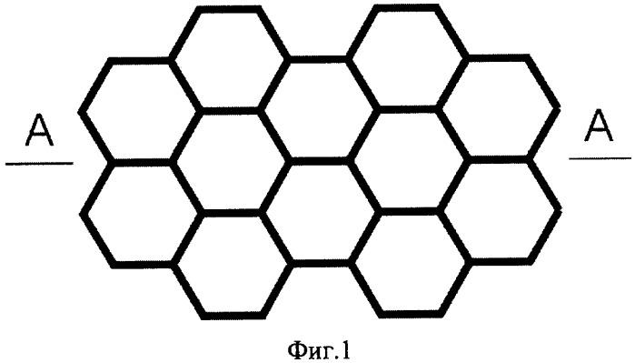 Тестовая структура для оценки радиуса кривизны острия иглы кантилевера сканирующей зондовой микроскопии