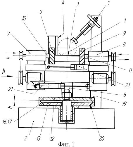 Станок для обработки круглых венцовых чашек в деталях сруба