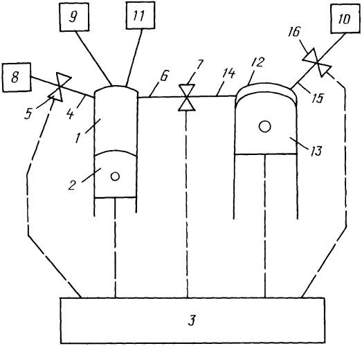 Четырехтактный комбинированный двигатель