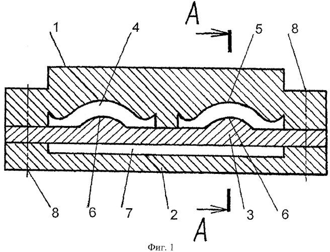 Двухканальная экструзионная головка для изготовления полимерной строительной профильной рейки
