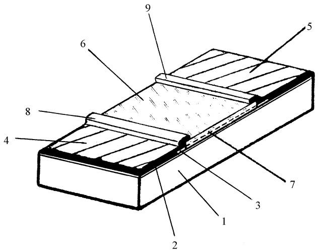 Резистор с повышенной мощностью рассеяния и способ его изготовления