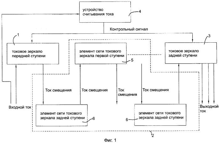 Схема токового зеркала с
