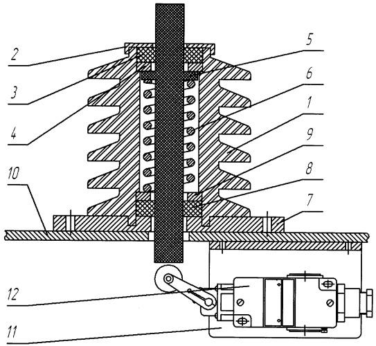 Сигнализатор опущенного положения токоприемника электровоза