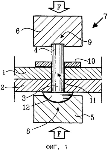 Способ соединения элементов конструкции и заклепка для его осуществления