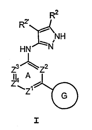 Производные пиразола, используемые в качестве ингибиторов протеинкиназы