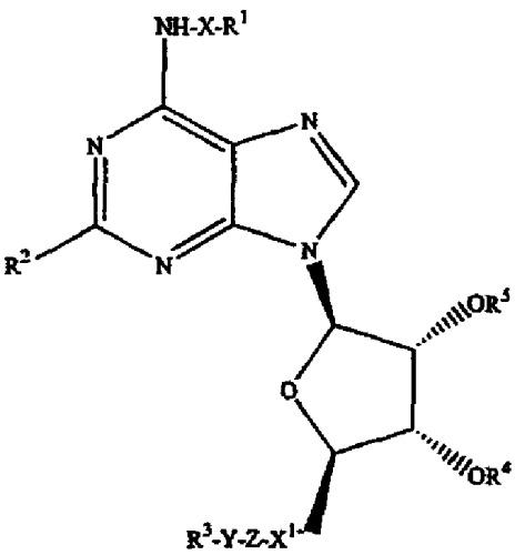 Частичные и полные агонисты аденозиновых рецепторов a 1