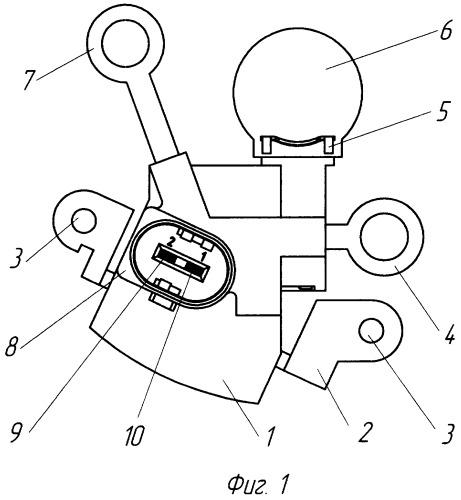 Регулятор напряжения автомобильного генератора многофункциональный