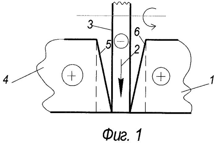 Способ разделения заготовки из токопроводящего материала