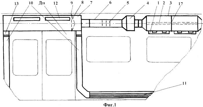 Система отопления и вентиляции вагона метро
