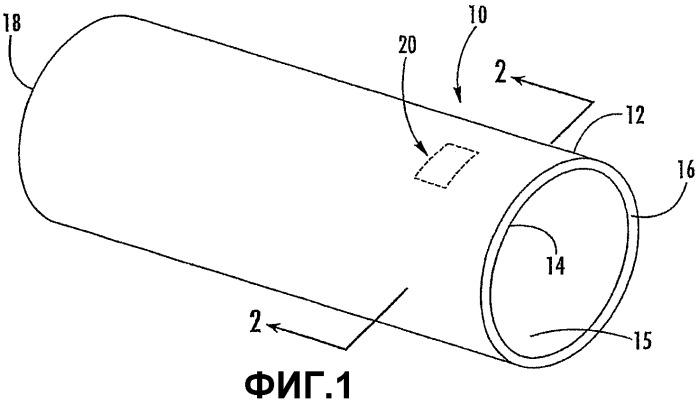 Устройство идентификации для многослойных трубчатых конструкций