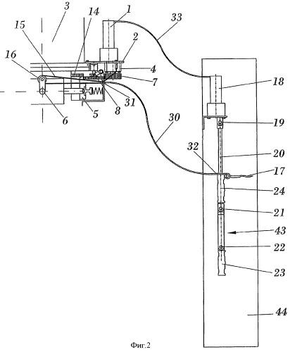 Аварийное устройство для подъема и опускания лифтов, застрявших между этажами