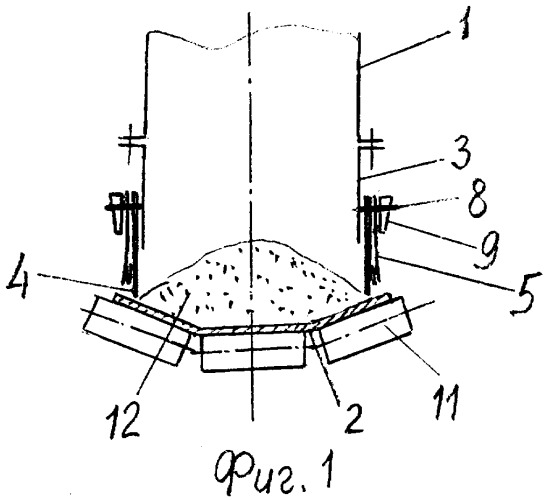 Загрузочное устройство ленточного конвейера