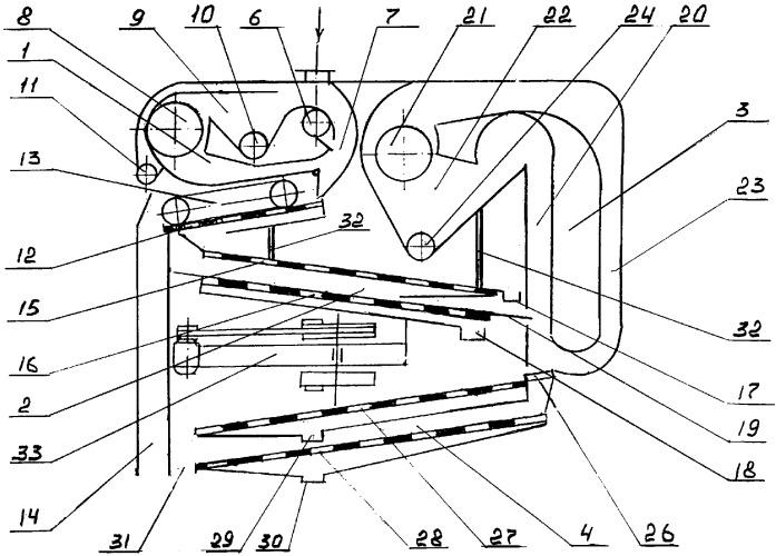 Воздушно-ситовый сепаратор-