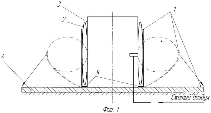 Способ сборки плоской резинокордной оболочки