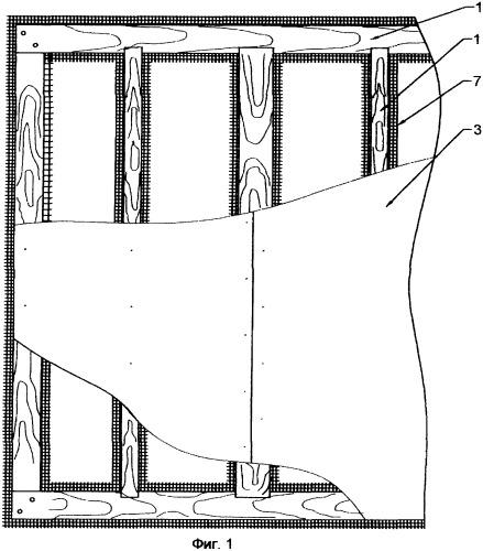 Трехслойная строительная панель